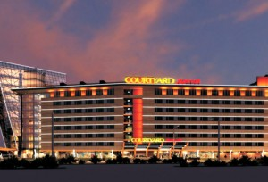 Courtyard Marriott Hotel in Irkutsk