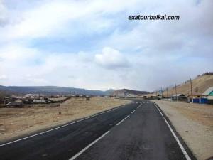 Автострада в Тунке