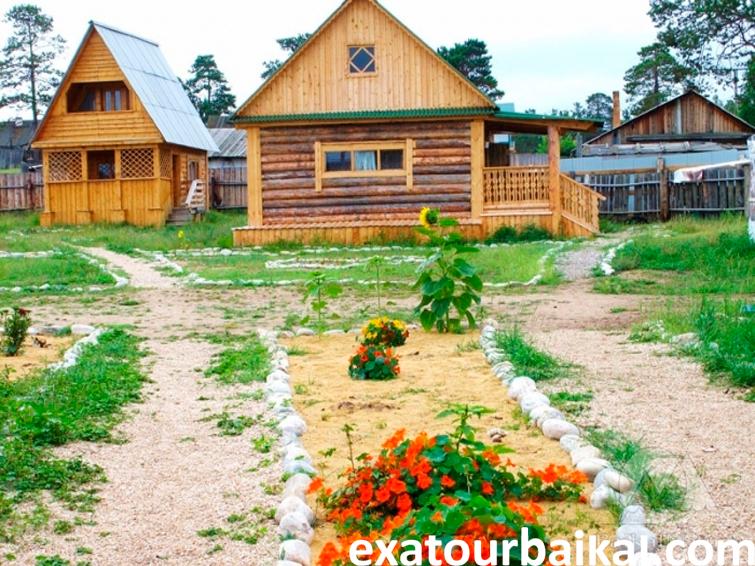 Семейная-гостиница-«Отдых-на-Байкале»  ЭкзотикАзияТур
